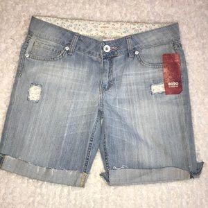 No Boundaries Denim Shorts 7